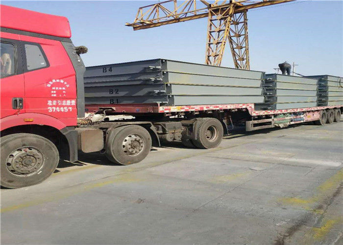 U Steel Material Truck Weighbridge Extensibility Concrete Pouring Synthetic