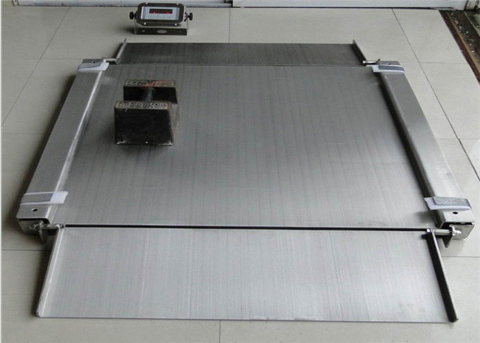 0.5kg Accuracy Industrial Floor Scale Painted Steel Bases Enhanced Performance