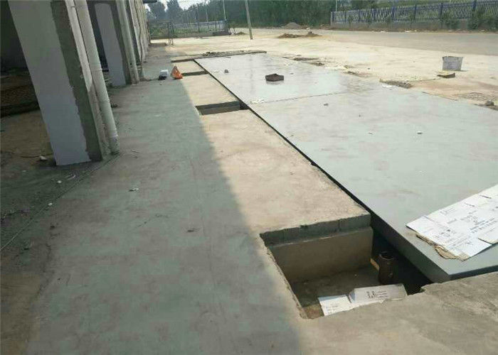 SCS Industrial Electronic Truck Weighbridge 80 Ton Pit Or Pitless